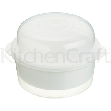 KitchenCraft Microwave 2.2 Litres Steamer Set