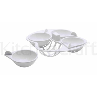 KitchenCraft Microwave Egg Poacher