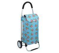 Coolmovers Floral Foldable Shopping Trolley