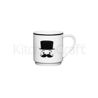 KitchenCraft Bone China Shy Stacking Mug