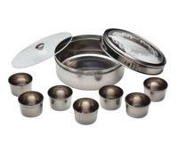 KitchenCraft Indian Stainless Steel Masala Dabba