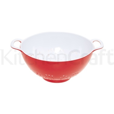 Colourworks Small Red Melamine Colander