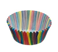 Sweetly Does It Pack of 80 Jazzy Stripe Mini Cake Cases