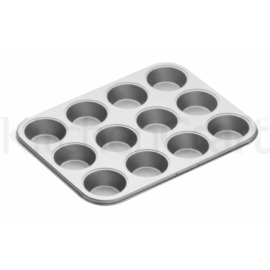 Kitchen Craft Non-Stick Twelve Hole Bake Pan