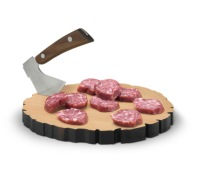 Fred Cheese Log Board & Knife Set