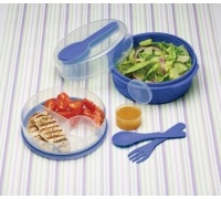 KitchenCraft Blue Salad Box