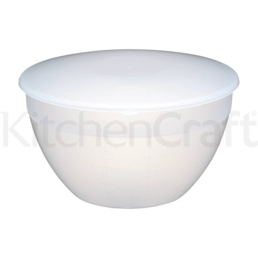 Kitchen Craft Plastic 2.3 Litre Pudding Basin and Lid