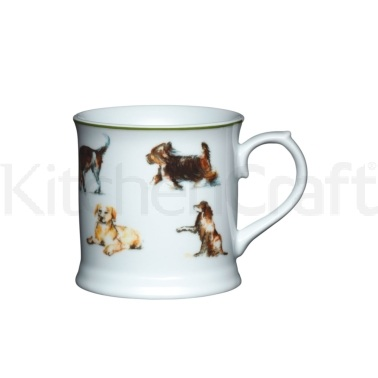KitchenCraft Fine Porcelain Dog Mug