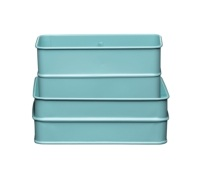 Living Nostalgia Vintage Blue Sink Tidy