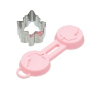 Sweetly Does It Leaf Fondant Cutter & Silicone Mould