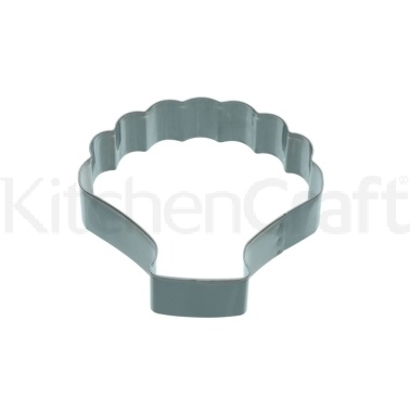 KitchenCraft 9cm Shell Shaped Cookie Cutter