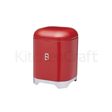 Lovello Red Biscuit Tin