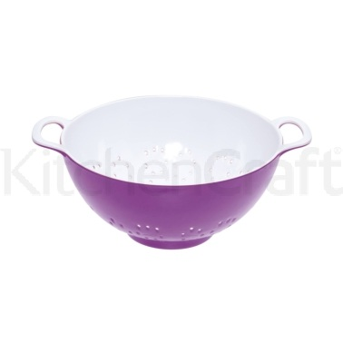 Colourworks Small Purple Melamine Colander