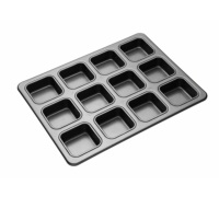 Master Class Non-Stick 12 Hole Brownie Pan
