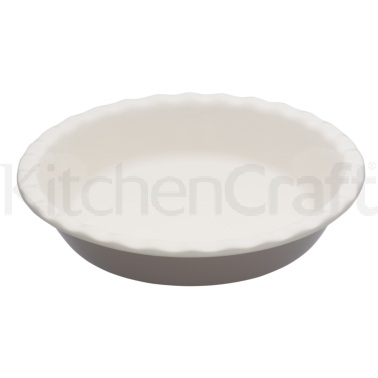 Natural Elements Stoneware Round 26cm Fluted Pie Dish
