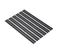 KitchenCraft Woven Black Placemat