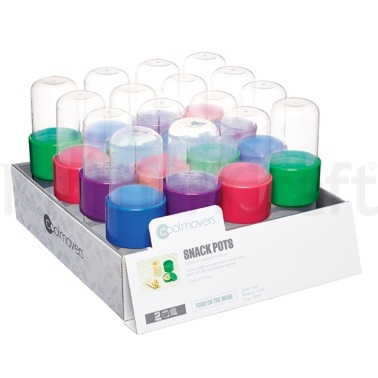 Coolmovers Display of 16 Snack Pots