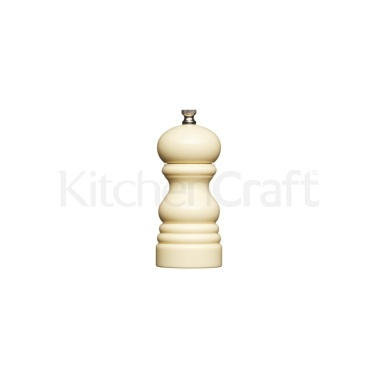 MasterClass Small 12cm Pastel Cream Salt/Pepper Mill