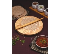 Kit chapati Indian