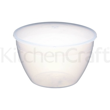 Kitchen Craft Plastic 1.7 Litre Pudding Basin and Lid
