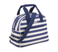 KitchenCraft 11.5 Litre Blue Stripe Holdall Style Cool Bag