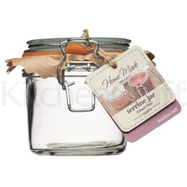 Bocal terrine en verre 350 ml