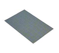 KitchenCraft Woven Blue / Green Diamonds Placemat