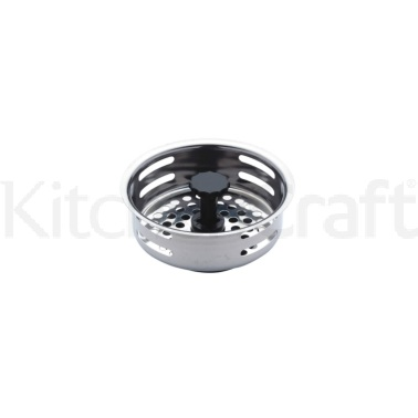 Kitchen Craft Stainless Steel Sink Plug & Strainer