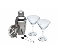 BarCraft 6 Piece Mini Martini Cocktail Set