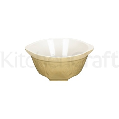 Home Made Traditional Stoneware 21cm Mixing Bowl