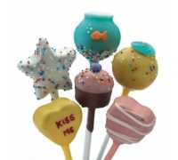 Stampo per cake pop in silicone 20 impronte assortite