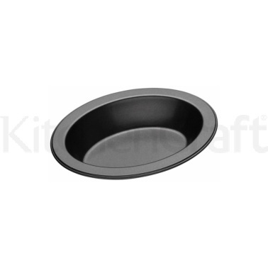 MasterClass Small Oval Non-Stick Pie Dish