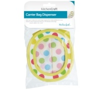 Kitchen Craft Fabric Carrier Bag Dispenser
