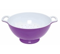 Colourworks Large Purple Melamine Colander