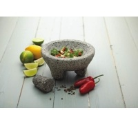 World of Flavours Mexican Granite Mortar and Pestle