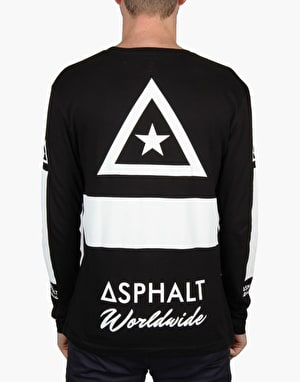 Asphalt Yacht Club Asphalt Worldwide L/S T-Shirt - Black