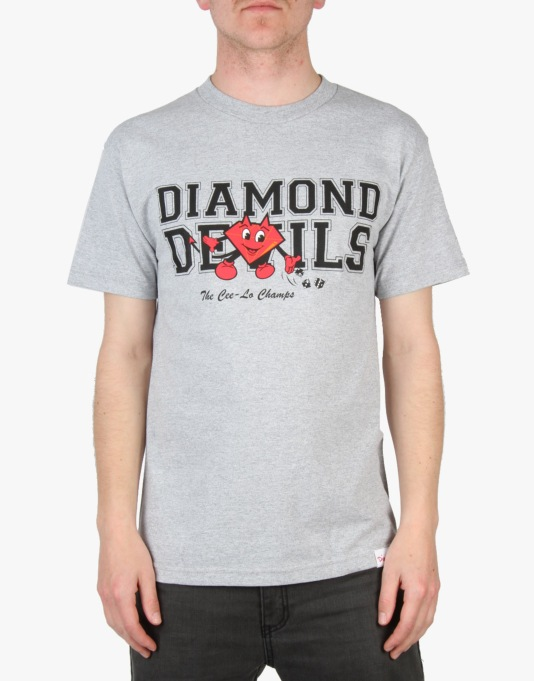 Diamond Supply Co. Devils T-Shirt - Heather