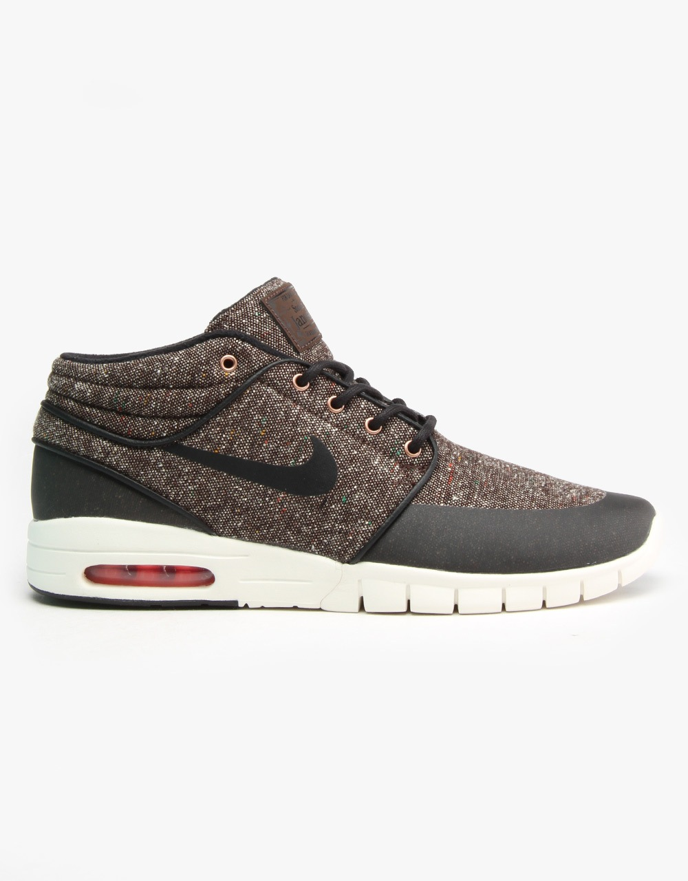 official photos 47003 61e7b Nike SB Stefan Janoski Max Mid Skate Shoes - Brq Brown Blk Crmsn-Sl   Nike  SB   Skate Shoes, Clothing   Accessories   Route One