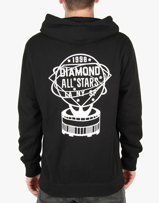 Diamond Supply Co. All Stars Zip Hoodie - Black