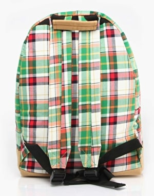 Mi-Pac Tartan Backpack - Green
