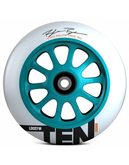 Lucky Blake Bailor Signature Scooter Wheel - 110mm - Teal/White