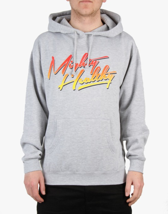 Mighty Healthy Hell Hoodie - Heather Grey