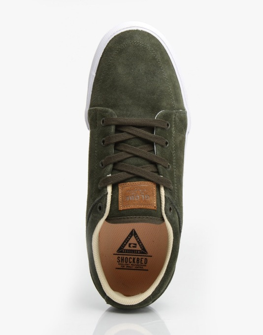 Globe GS Skate Shoes - Olive