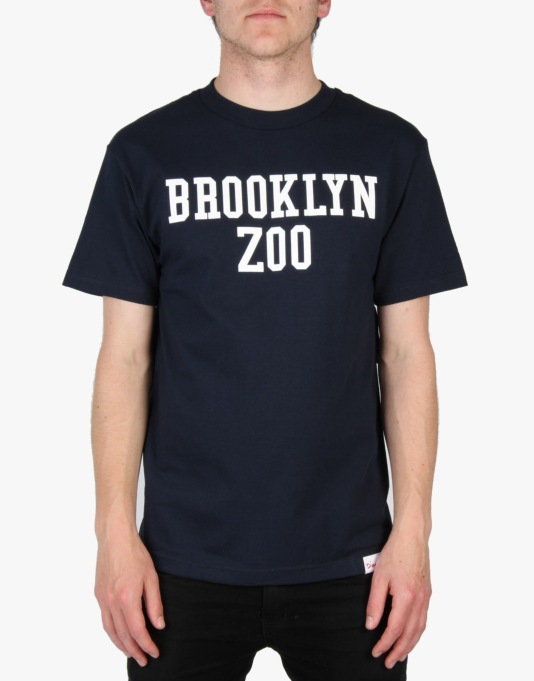 Diamond Supply Co x ODB Brooklyn Zoo T-Shirt - Dark Navy