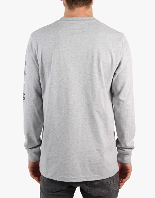 Acapulco Gold Flared Out L/S T-Shirt - Heather Grey