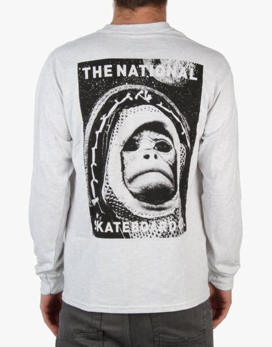 The National Skateboard Co. Sam L/S T-Shirt - Ash