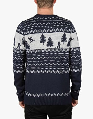 Bellfield Varma Jumper - Navy