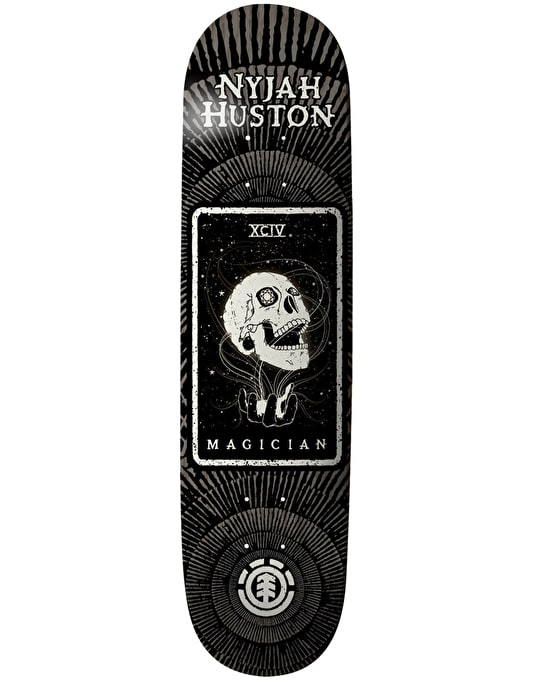 Element Nyjah Tarot Card Thriftwood Skateboard Deck - 7.75""