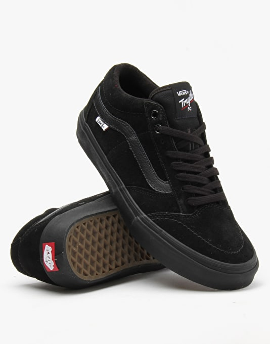 Vans TNT SG Pro Skate Shoes - Blackout