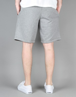 HUF Classic H Fleece Shorts - Grey Heather